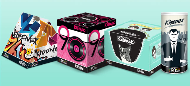 Kleenex product shot