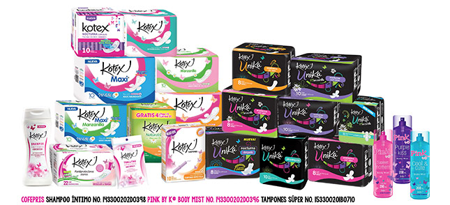 Kotex Product Shot
