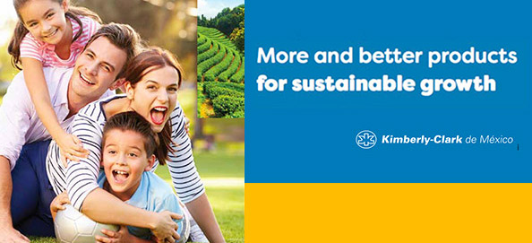 SUSTAINABILITY BANNER KIMBERLY-CLARK DE MEXICO